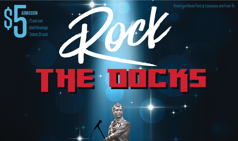 Special Harrison Rally Day Rock the Docks, September 17 from 7:30pm – 11pm